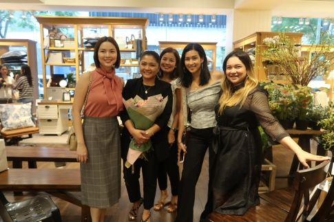 These momma's who came to support: Bambi Del Rosario-Young, Nadine Henson-Cuevas, Mika Martinez, Ace Monteron of Ninjamadeph