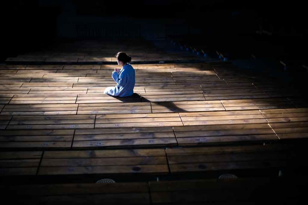 adult alone dark girl